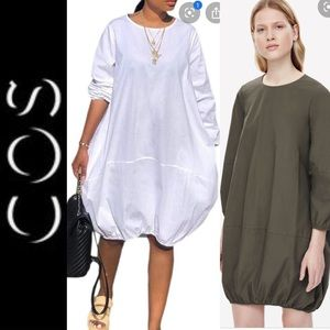 COS Cocoon Style Bubble Hem Dress  Tunic